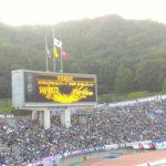 セレッソ大阪に感謝!ピンクユニフォームサポーターの励まし!『広島』は頑張りますよ~!