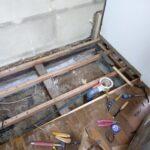 自宅のセルフリフォーム解体作業!個人なら小さくすれば床板燃えるゴミで出せます!